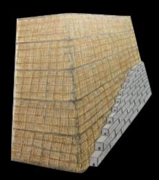 Brandis Stützmauer